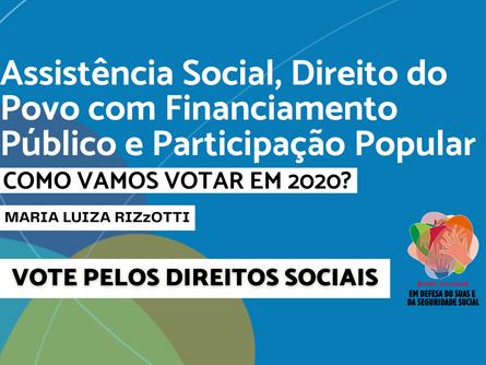 Eleições 2020 - Maria Luiza Rizzotti