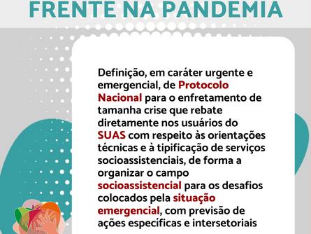 Agenda Política da Frente Nacional na Pandemia
