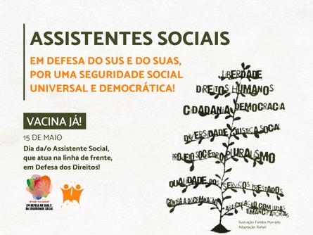 15 de maio: Dia da(o) Assistente Social