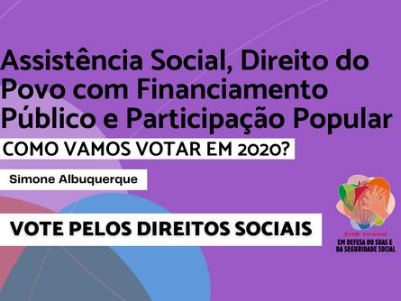 Eleições 2020 - Simone Albuquerque