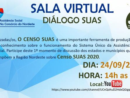 Sala virtual diálogo SUAS
