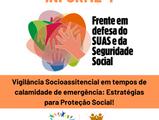 Informe 4: Vigilância Socioassistencial e Pandemia