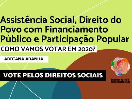 Eleições 2020 - Adriana Aranha