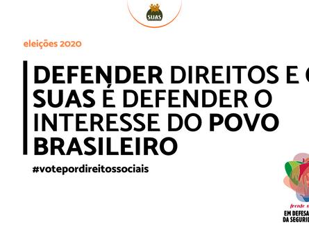 DEFENDER DIREITOS E O SUAS É DEFENDER O INTERESSE DO POVO BRASILEIRO