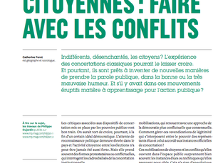 Mobilisations citoyennes : faire avec les conflits