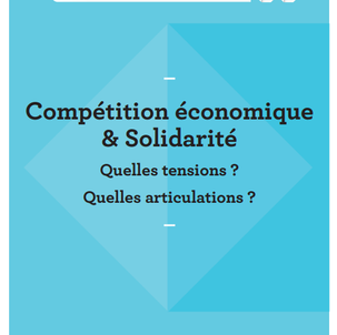 """Du """"moi"""" au """"nous"""", ou de la difficile articulation entre compétition et solidar"""