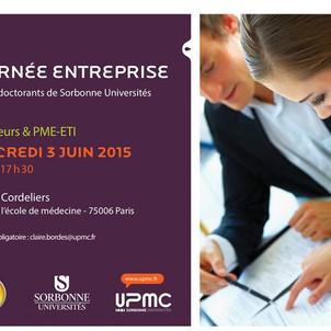 FRV100 à la Journée entreprises de Sorbonne Universités