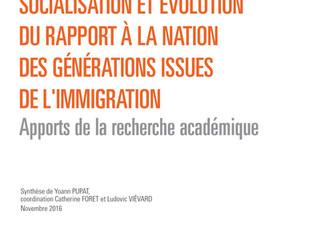 Socialisation et évolution du rapport à la nation des générations issues de l'immigration
