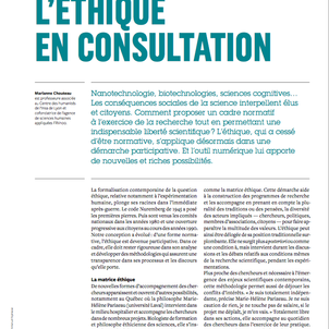 L'éthique en consultation