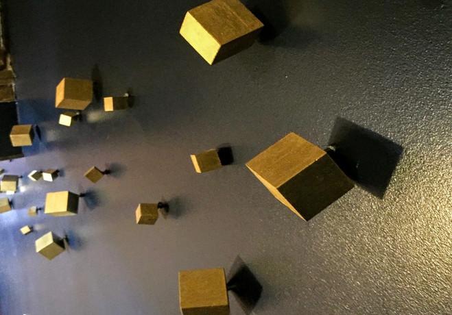Gold Block Installation