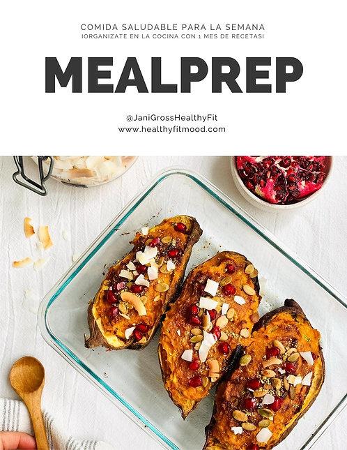 Guía MEALPREP: Cómo organizarse en la cocina por un mes