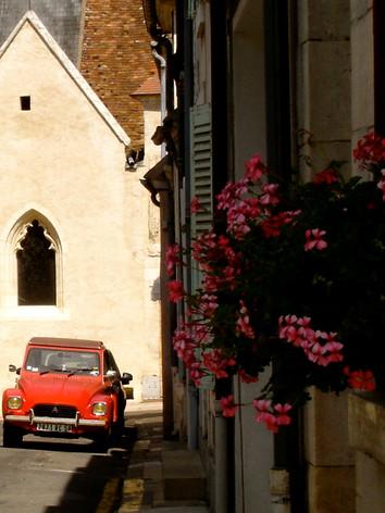 Rue de la Vauyon looking North