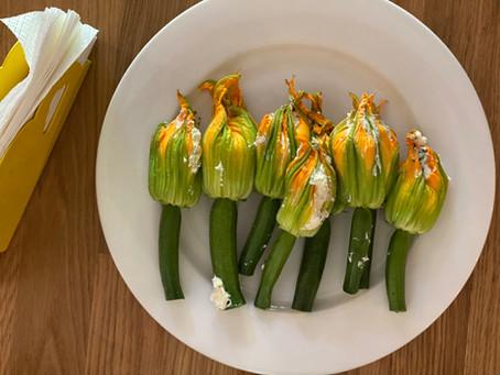 Get Stuffed Zucchini Flowers