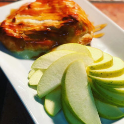 Have you tried our baked Brie and apples