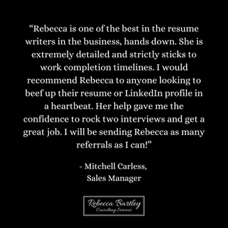 RB Consulting Services - Client Testimon