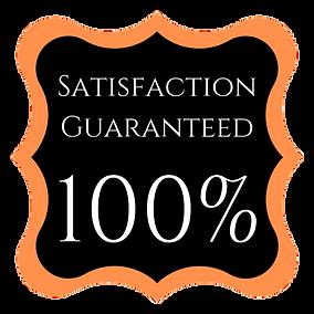 Satisfaction Guarentee With Transparent