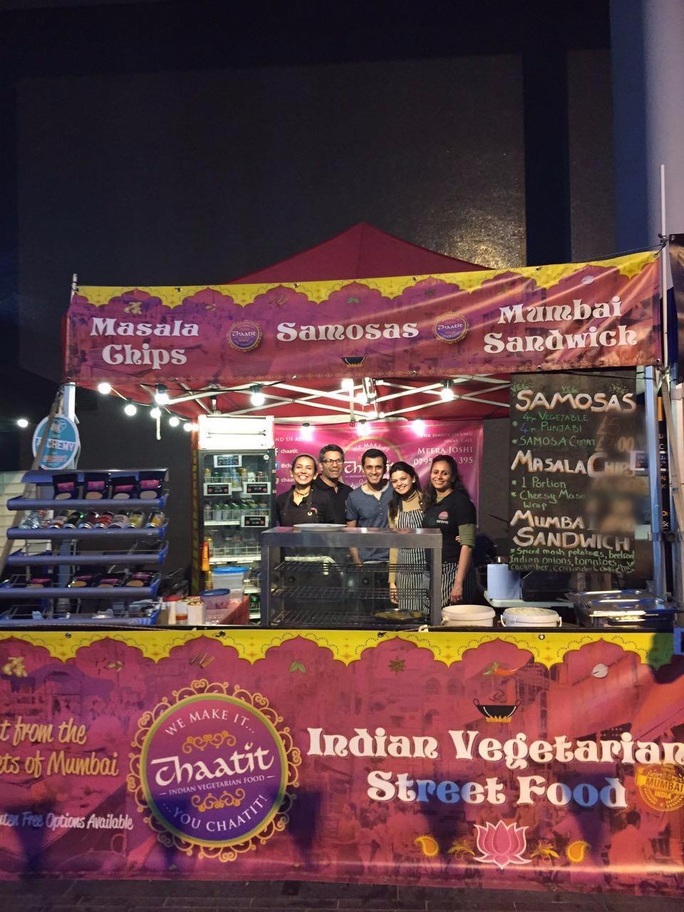 Chaatit stall