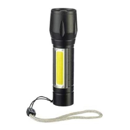 Sona Adjustable Focus, USB Rechargeable Flashlight