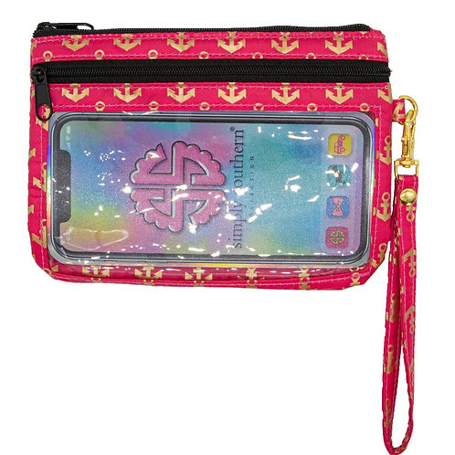 Simply Southern Anchor Phone Wristlet