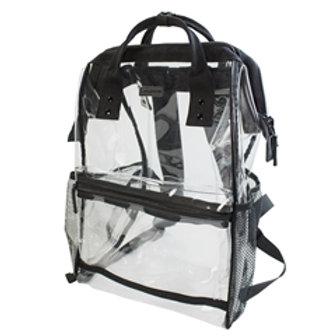 Hinge Top Backpack - Black