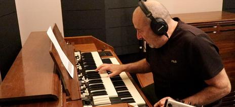 The Phantom, Noah Shilkin B3 with Leslie speaker