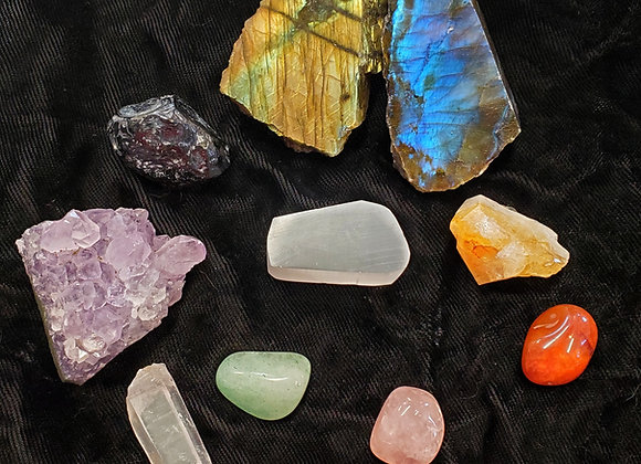 Labradorite Crystal pack.