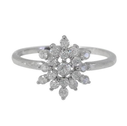Snowflake Flower Ring