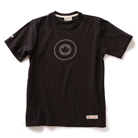 RCAF T-shirt, Black