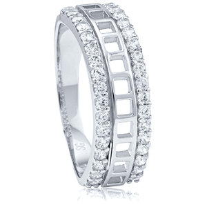 Silver Ring with CZ  RG002