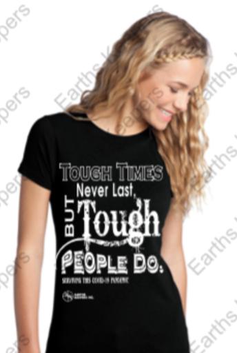 Womens Tough Times Never Last T-Shirt