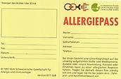 Allergiepass 1997