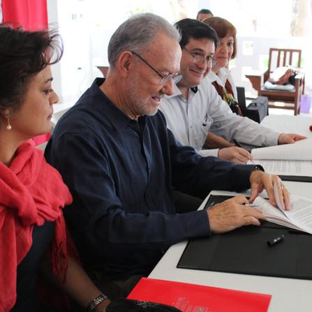Firma de convenio con Universidad Iberoamericana Puebla
