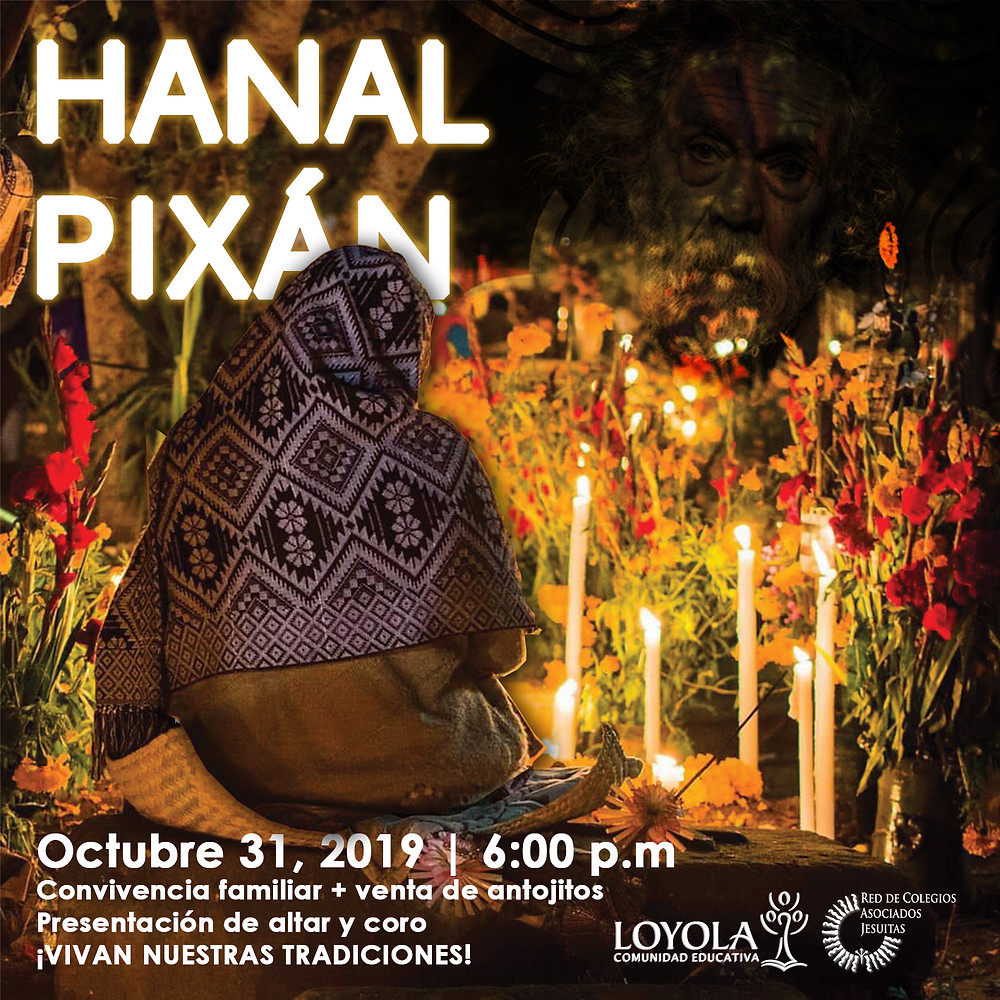 Cartel Hanal Pixán 2019