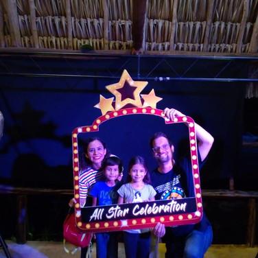 All Star Celebration ¡Fiesta de bienvenida!