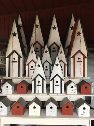 BIRD HOUSES!!!