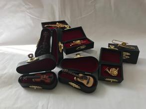 Miniature Musical Instrument Pins!!!