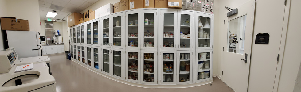 Chemical and Supply Storage