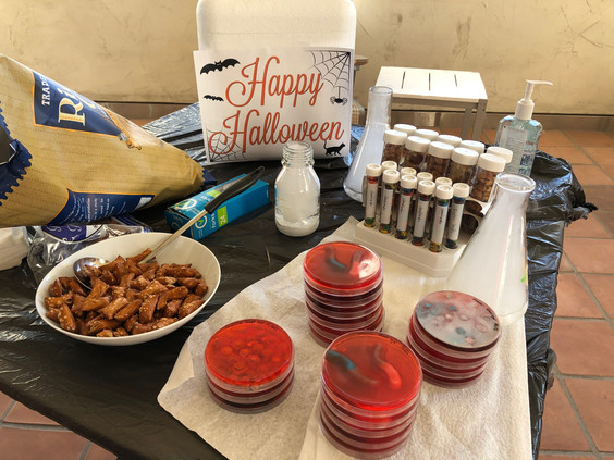 A lab-friendly Halloween celebration. :)