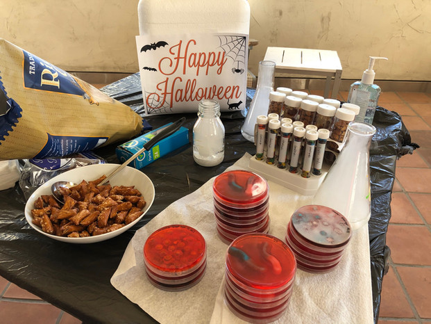 A lab-friendly Halloween celebration. :)