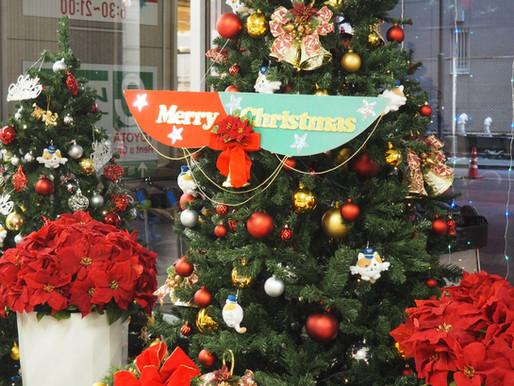 館内はクリスマス一色となりました。