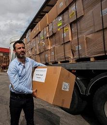 ישראל נערכת : 2 מליון מסכות מיגון הופצו הבוקר במבצע מיוחד