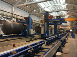 Tank Assembly and Welding Line