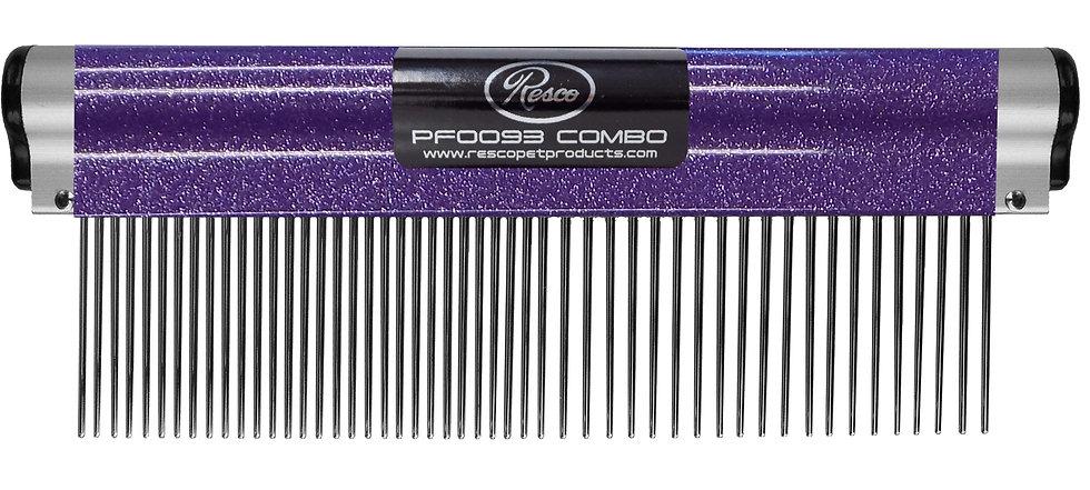 "Resco Wrap Comb, Sparkle Purple, Combo Spacing, 1.5"" Pins"