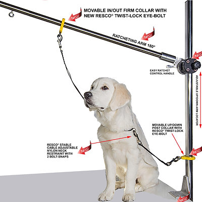 Resco Grooming Post System