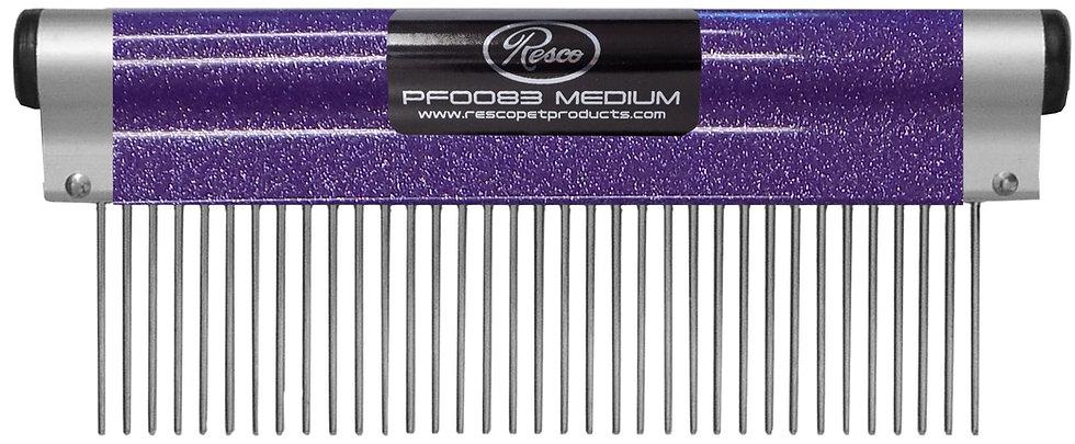 "Resco Wrap Comb, Sparkle Purple, Medium, 1.5"" Pins"