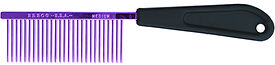"Resco American Made Fine Comb, Candy Purple, 1"" Pins, PF0677"