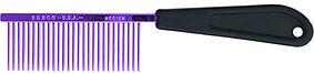 "Resco American Made Fine Comb, Candy Purple, 1"" Pins, PF0677"