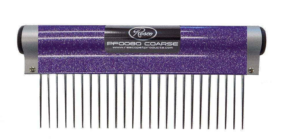 """Resco Wrap Comb, Sparkle Purple, Coarse, 1.5"""" Pins"""