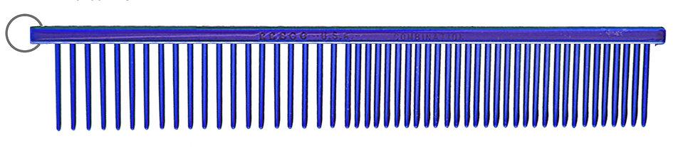 "Resco 1"" Combination Comb, Candy Blue"