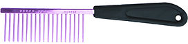 "Resco American Made Coarse Comb, Candy Purple, 1"" Pins, PF0600"